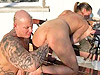 Hetero vaginal fisting