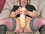 Monster dildo insertions