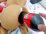 Marias anal cola bottle fuck